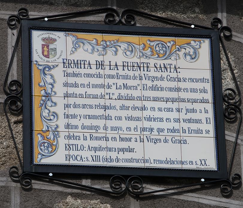 Ermita de la Fuente Santa San Pablo