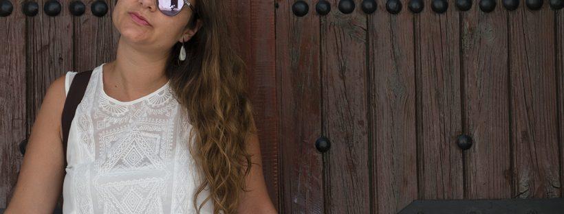 vestido blanco ibicenco, gafas northweek