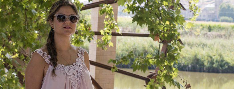 look de verano / summer look: caqui + pink