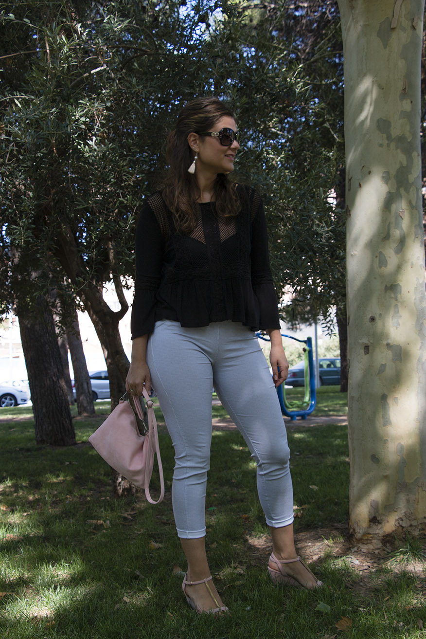 look entretiempo: blanco y negro/ autumn look: black and white