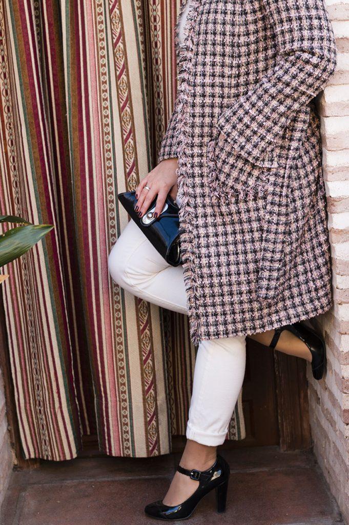 Abrigo estilo chanel